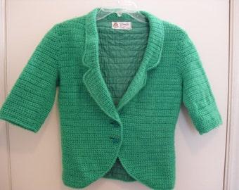 1960s Green Baratta Sport Jacket