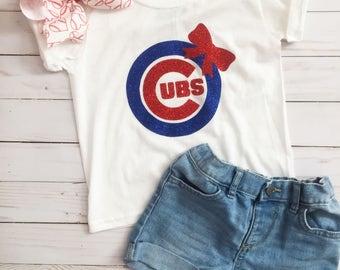 Cubs Shirt • Cubs Girl Shirt • Cubs Toddler • Cubs Baby • Cute cubs Shirt • Cubs Baby • Baseball• Cubs baby girl