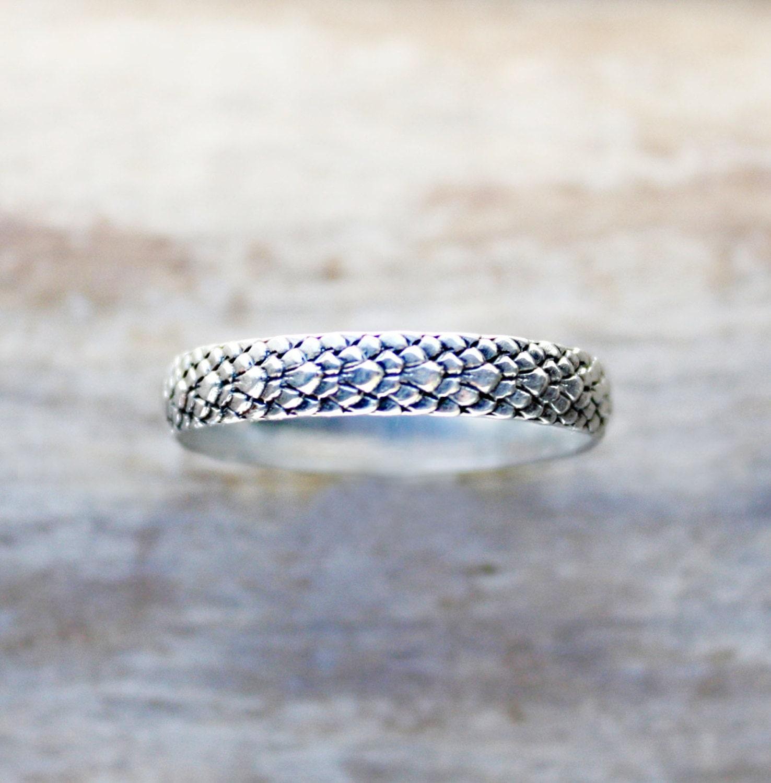 Silber Ring Sterling Silber Schlange Ring Drachen Ring