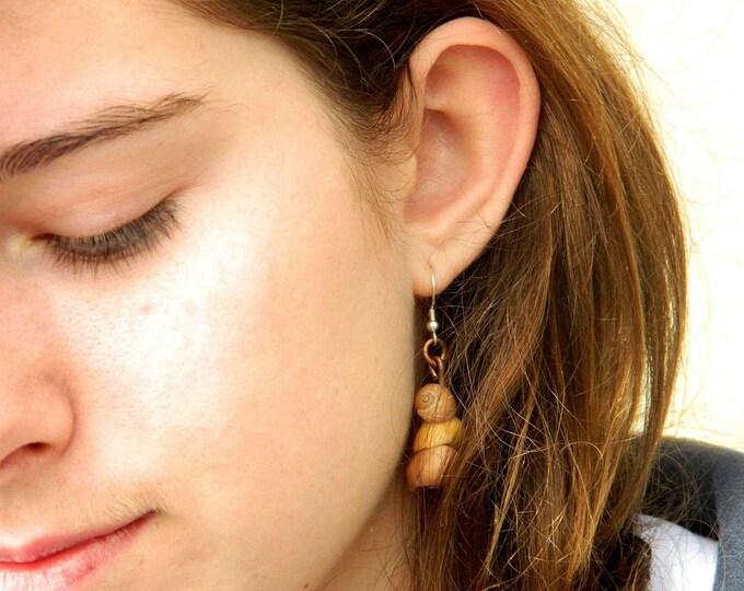 Shell Earrings by Ruairí O'Neill