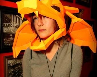 Charizard Paper Mask & Wings