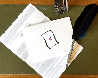 Letters from Podsworth - epistolary surprises in the mail! - short story - monthly mail - surprise loot