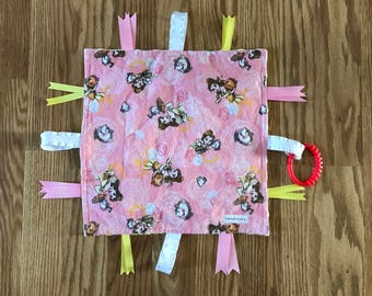 Beauty and the Beast Baby Lovey, Beauty and the Beast Blanket, Belle Baby Blanket, Belle Baby Lovey