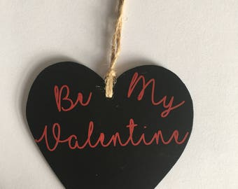Be My Valentine Heart Hanging