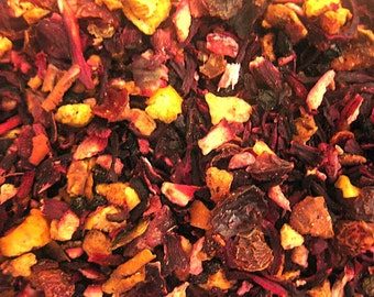 1 oz Cranberry Orange Rooibos Tea