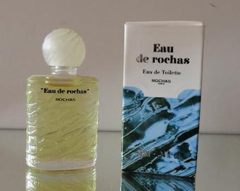 Eau de Rochas by Rochas - half FULL - Miniature perfume bottle - Eau de Toilette Parfum-