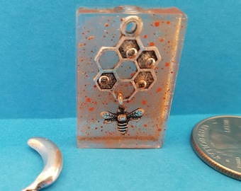 Bee and Hive Pendant