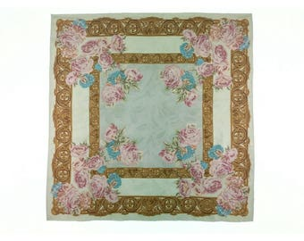 Luciano Soprani, silk scarf, women's accessories.