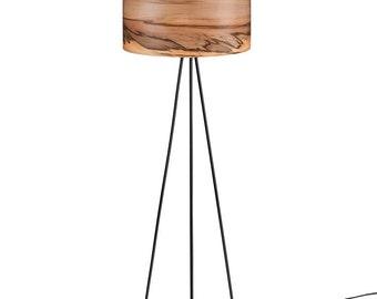Floor lamp wooden lamp modern floor lamp natural wood wooden floor lampnatural wood lampsveneer lamps lighting modern lamps lampshades floor lamps sven aloadofball Image collections