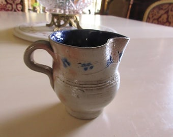 SALT GLAZE PITCHER