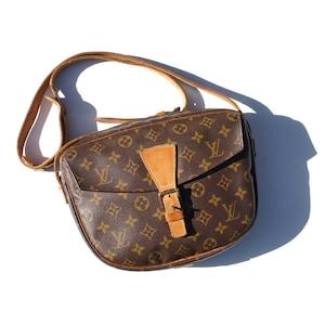 Authentic LOUIS VUITTON Monogram Jeune Fille GM Crossbody Bag Shoulder Purse Handbag Pouch Messenger Vintage Lv Yo4070