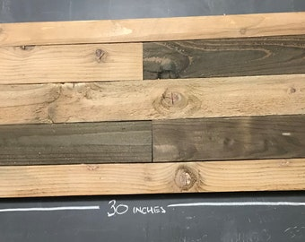 DIY Wooden Project Board