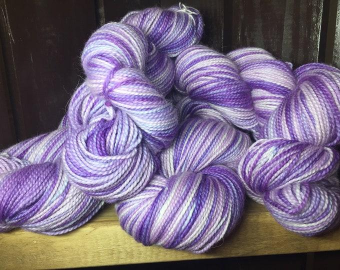 Purple Pop - Hand Dyed Variegated Yarn