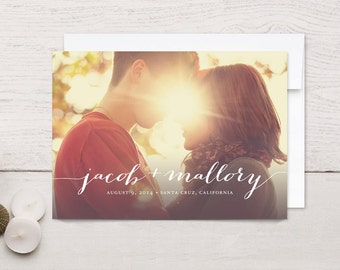 Save the Date Cards Simply Stated