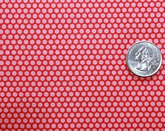 MODA  Bonnie and Camille Little Ruby Little Bliss Red/Pink Dot Yardage