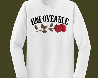 UNLOVEABLE ROSES LONGSLEEVE
