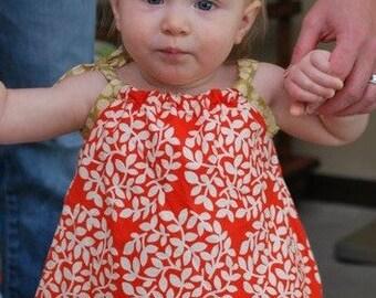 Orange Blossom dress 18 mos to 6 years ... ERIN MCMORRIS / MARTHA NEGLEY