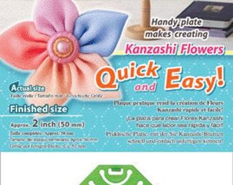 Kanzashi Flower Maker - Pointed Petal Small - Clover 8482