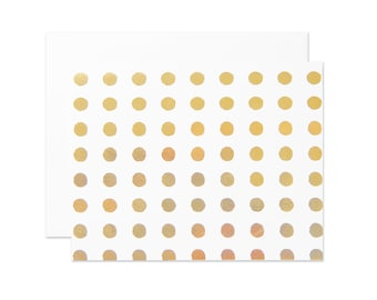 Grunge Dots Boxed Notes