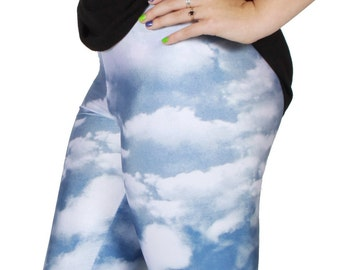 Cloud Spandex Leggings