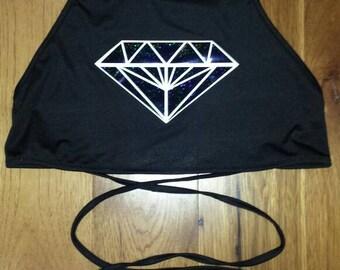 Diamond crop top