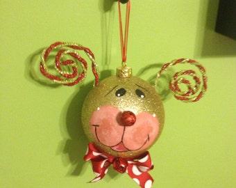 Musical Rudolph Ornament