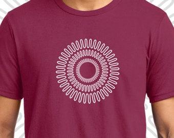 Mandala T-shirt Men Short Sleeve