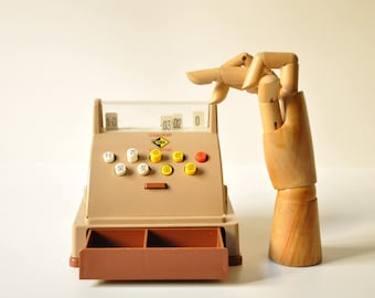 Vintage Casdon Toy Till / Cash Register 1960s