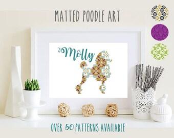 Poodle Art