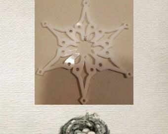 Snowflake Ornament- Acrylic