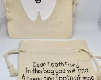 Tooth Fairy Bags , lost tooth bag , child's tooth bag , tooth fairy