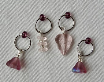 Blossom 10mm Stitch Marker Set
