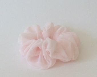 Light Pink Scrunchie - Handmade Scrunchie