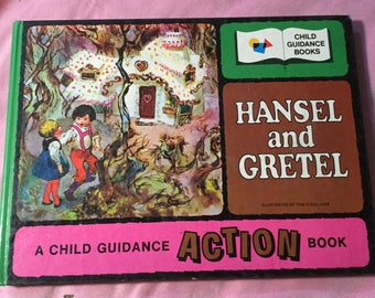 Hansel and Gretel, A Child Guidance ACTION Book Vintage 1970s