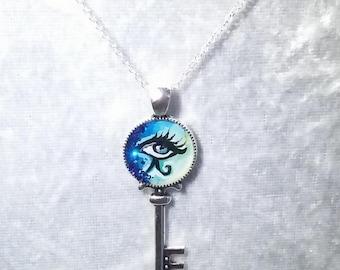 Eye am the Key chain