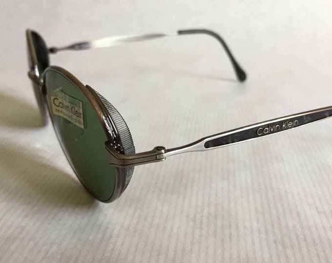 Calvin Klein 242S Vintage Sunglasses New Old Stock Made in Italy