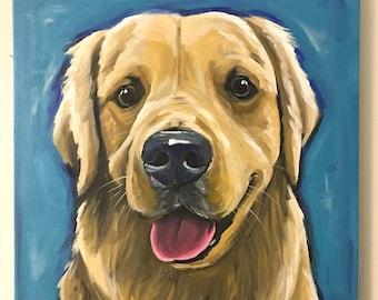 Custom Dog Painting, Custom pet painting. Custom dog portrait, Expressive Style Custom Pet portrait, custom dog painting on canvas