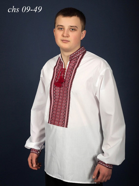 Ukrainian shirt for men. Embroidered shirt. Men's embroidered shirt. Ukrainian vyshyvanka. Traditional Ukrainian shirts PE7T3ag