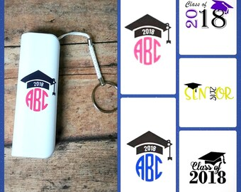 Graduation gift portable power bank keychain phone charger