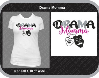 Drama Momma SVG Cutter Design INSTANT DOWNLOAD