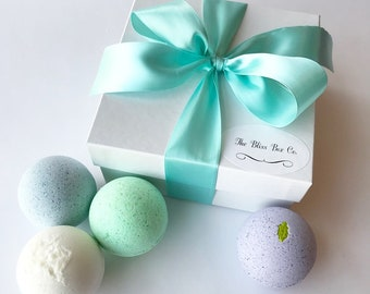 Spa Bath Bomb Gift Set, Bath Bomb Gift Set, Bath Bombs, Spa Gifts, Boxed Gift Set
