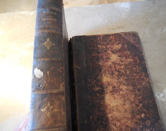 EXRARE Circa 1887 Complete The Count of Monte Cristo by Alexandre Dumas Illustrated Edouard Riou Wood Plates Good Escape Folio