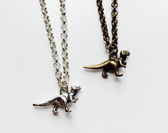 Dinosaur | T-Rex | Raptor | Jurassic | Cute | Necklace