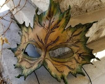 Leaf Mask Template