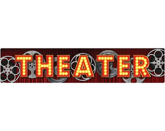 Theater Film Reels Wall Decal #40762