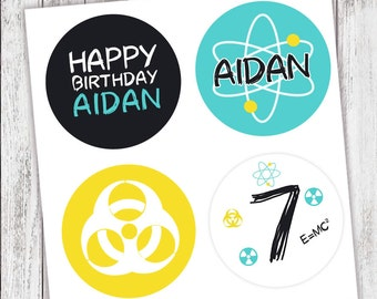 SCIENCE LAB Party #Stickers