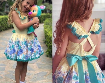 La Amapola Summer Baby Dress