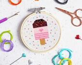 cross stitch kit, lolly cross stitch, craft kit, craft kits, needlework kit, needlecraft, modern needlework, x stitch, kits, lolly