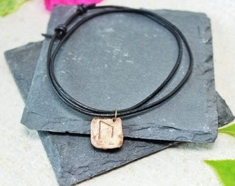 Runes jewellery, Strength Bracelet, double wrap bracelet, gift for him, gift for her, Pagan style, Witchcraft, Rune charm, Strength charm