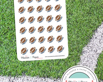 Football Practice - Planner Stickers Small Sheet